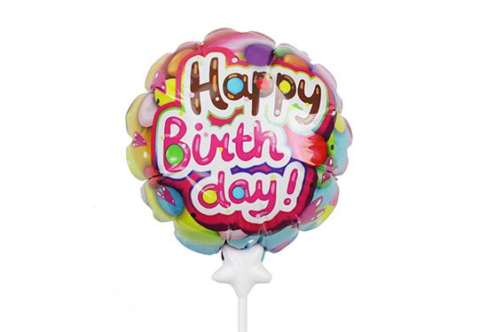 HBD-002 生日快乐自动充气气球