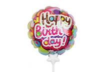 HBD-002 Happy Birthday Self infalting balloon