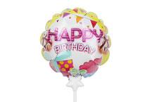 HBD-003 Happy Birthday Self infalting balloon