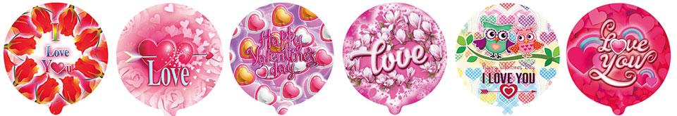 情人节系列自动充气球