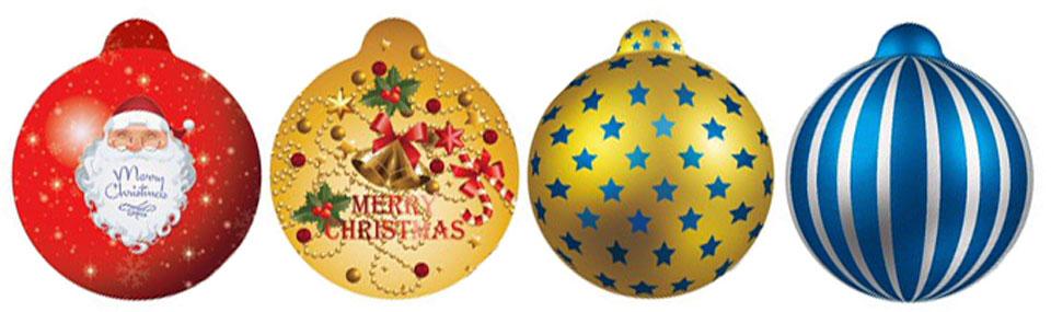 聖誕節/耶誕節自動充氣球