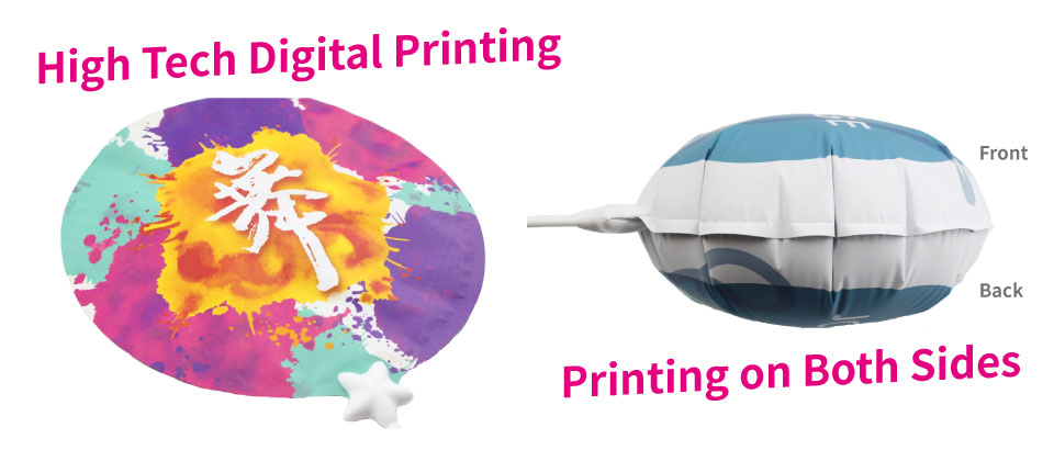 Full Color and Double side printing