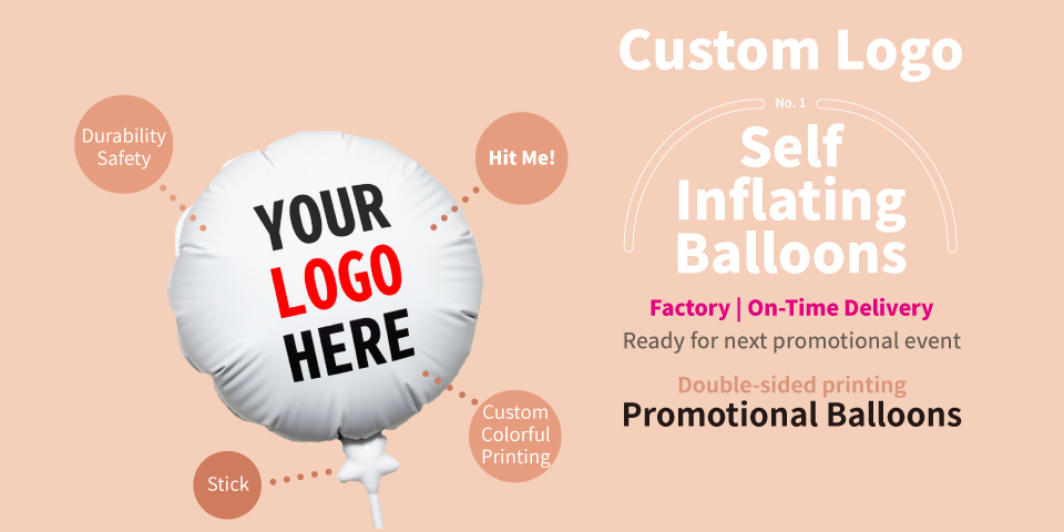 We are the factory of self-inflating balloons, worldwide delivery