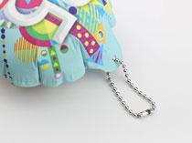 自動充氣氣球-銀色珠鏈2.4mmx10cm