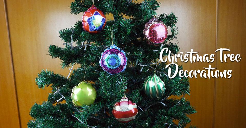 聖誕樹氣球裝飾吊飾