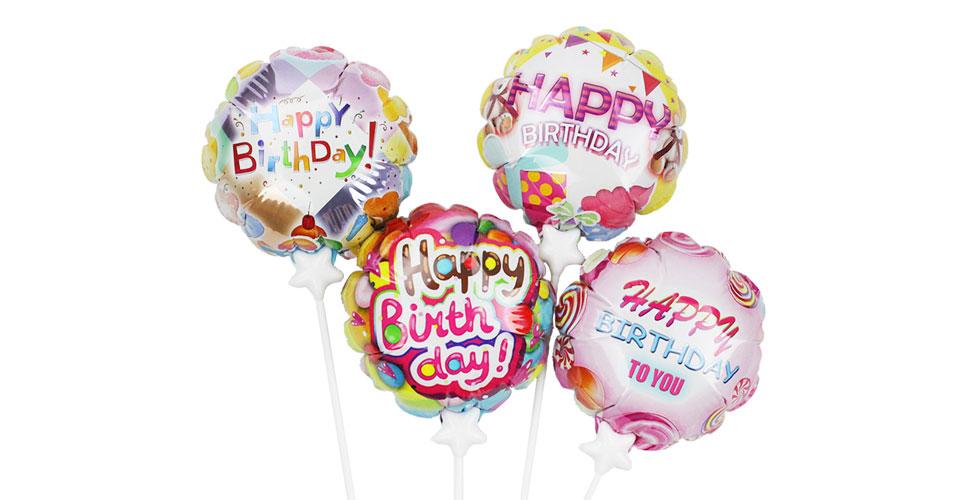 生日系列-自动充气气球