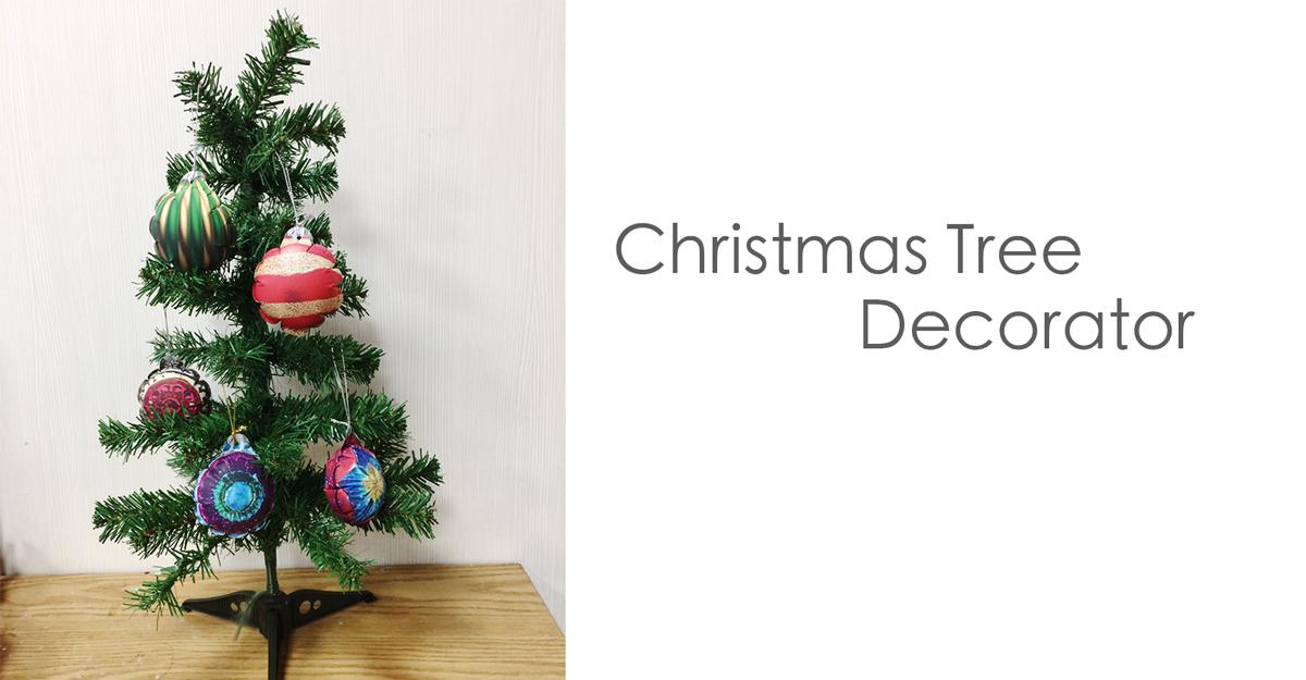 圣诞树气球吊饰